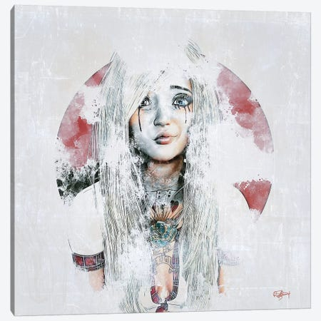 Après les pleurs Canvas Print #RMB48} by Romain Bonnet Canvas Artwork