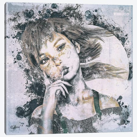 Attitude II Canvas Print #RMB49} by Romain Bonnet Canvas Artwork