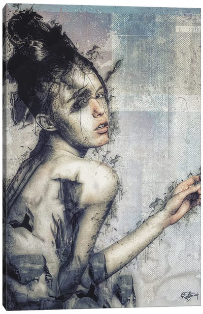 Frêle Canvas Art Print