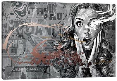Coulrophobie Canvas Art Print