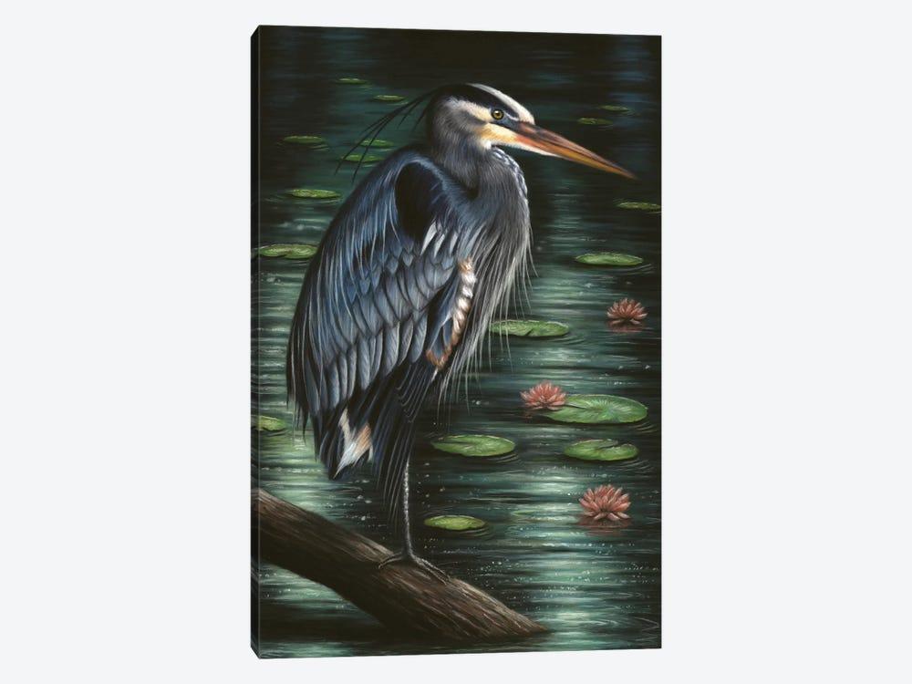 Heron by Richard Macwee 1-piece Canvas Art Print