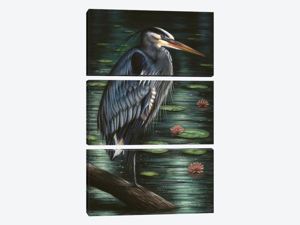 Heron by Richard Macwee 3-piece Art Print