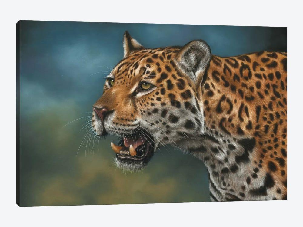 Jaguar by Richard Macwee 1-piece Canvas Wall Art