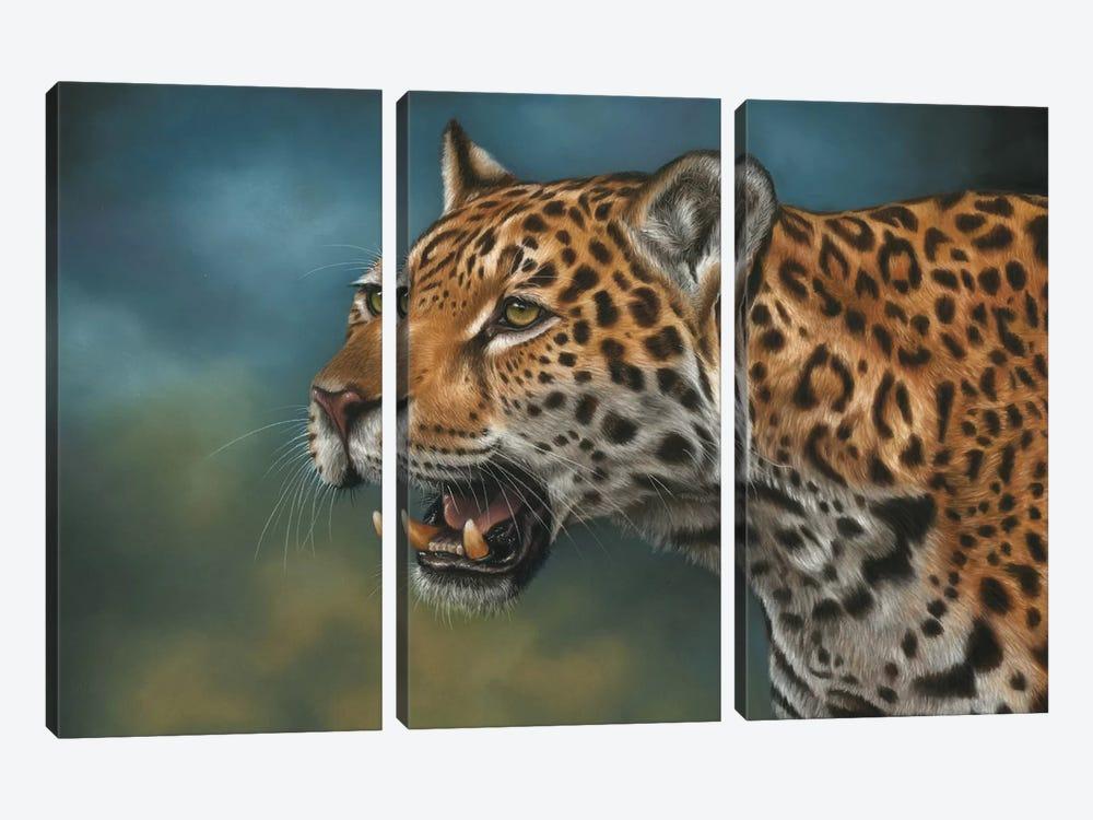 Jaguar by Richard Macwee 3-piece Canvas Wall Art