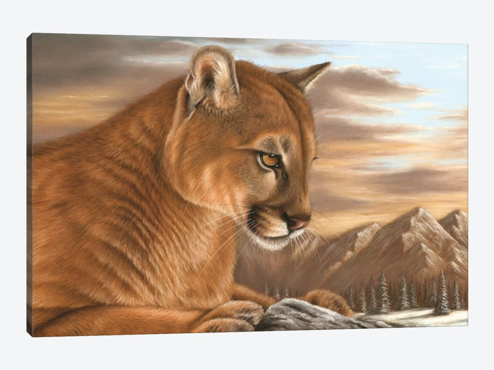 Puma by Richard Macwee 1-piece Art Print