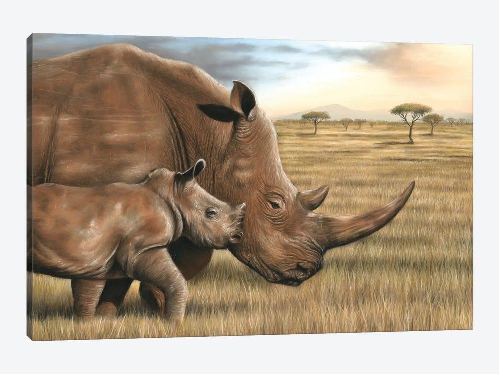 Rhino by Richard Macwee 1-piece Art Print