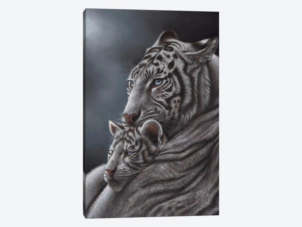 White Tiger by Richard Macwee 1-piece Canvas Art Print