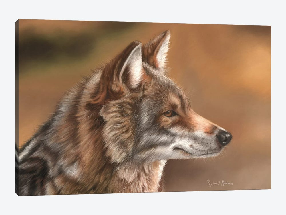 Coyote by Richard Macwee 1-piece Art Print
