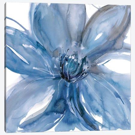 Blue Beauty II Canvas Print #RME3} by Rebecca Meyers Canvas Print