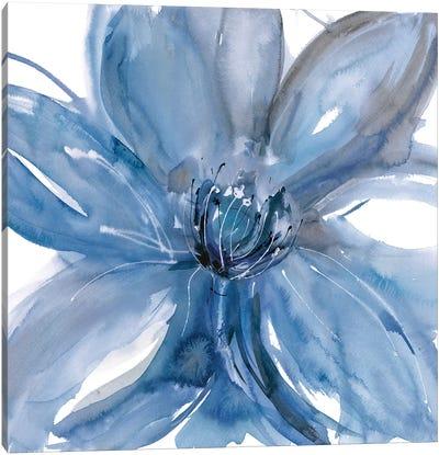 Blue Beauty II Canvas Art Print