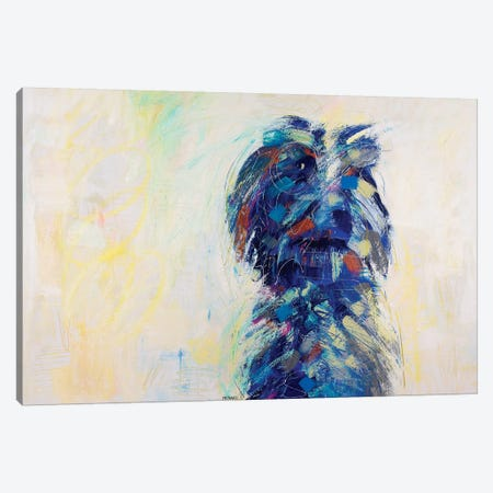 Sheep Dog Canvas Print #RMI13} by Russell Miyaki Canvas Artwork