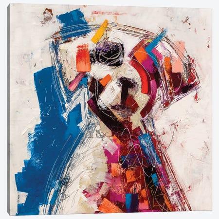 Home Pup Canvas Print #RMI19} by Russell Miyaki Canvas Wall Art