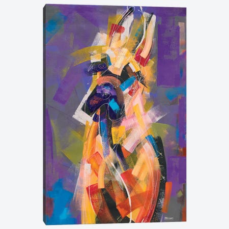 Great Dane Canvas Print #RMI25} by Russell Miyaki Canvas Artwork