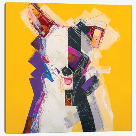 The Whippet 3-Piece Canvas #RMI26} by Russell Miyaki Canvas Art