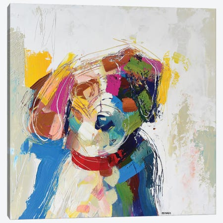Beagle Canvas Print #RMI3} by Russell Miyaki Art Print