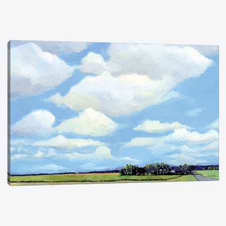 Watermill North Canvas Print #RMM10} by Steven Romm Canvas Wall Art