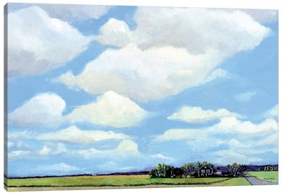 Watermill North Canvas Art Print