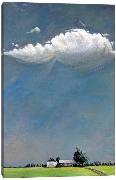 Watermill Canvas Art Print