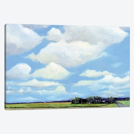 Watermill North Canvas Print #RMM15} by Steven Romm Art Print