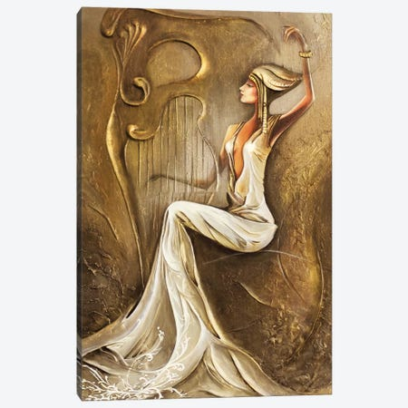 Light Night Melody Canvas Print #RMN21} by Raen Canvas Art