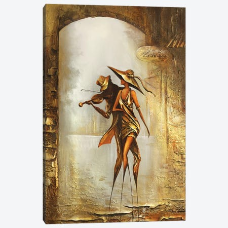 Melody Of The Wind Canvas Print #RMN22} by Raen Canvas Artwork