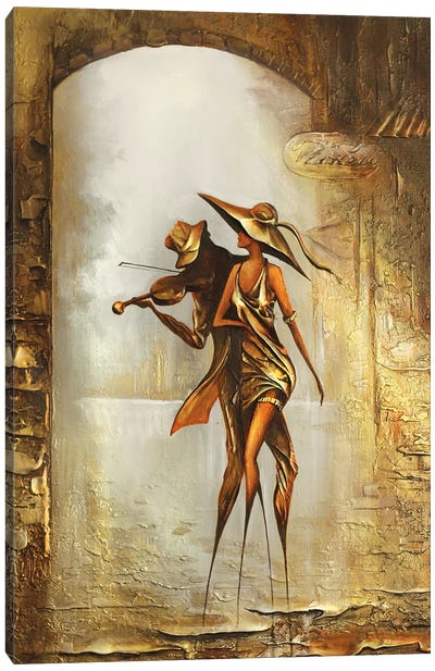 Melody Of The Wind Canvas Art Print