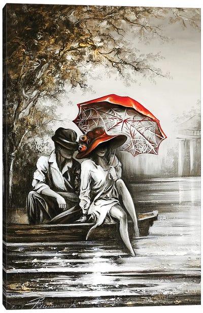 Romantic Date Canvas Art Print