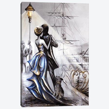 Sea Of Love Canvas Print #RMN27} by Raen Art Print