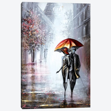 Summer In Paris Canvas Print #RMN28} by Raen Canvas Artwork