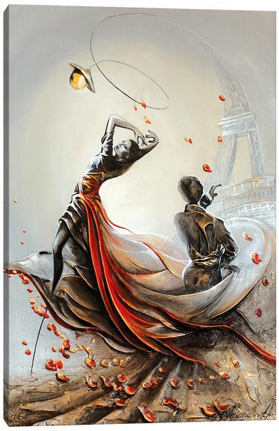 Tango In Paris Canvas Art Print