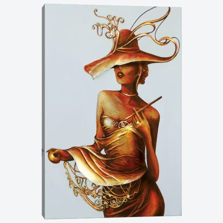 Always A Woman I Canvas Print #RMN2} by Raen Canvas Art