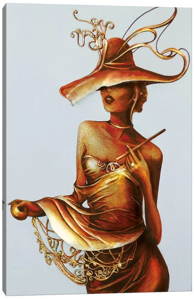 Always A Woman I Canvas Art Print