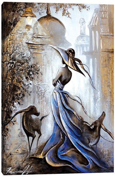 Theater Lovers Canvas Art Print