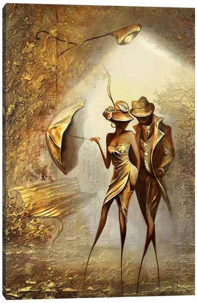 Under The Lights Canvas Art Print