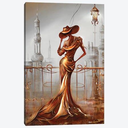 Woman In Gold Canvas Print #RMN35} by Raen Canvas Wall Art