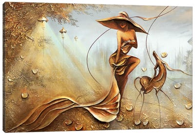 Night Wind Canvas Art Print