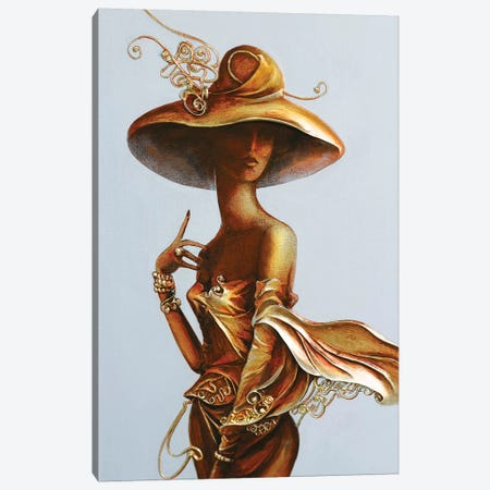Always A Woman II Canvas Print #RMN3} by Raen Canvas Artwork