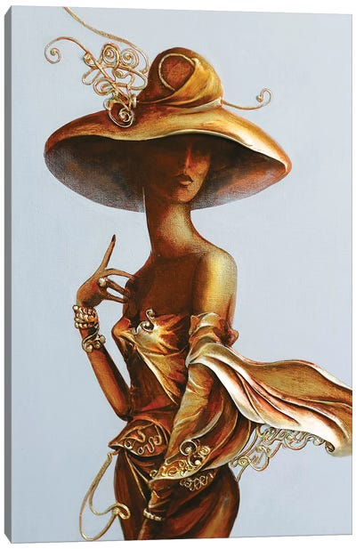 Always A Woman II Canvas Art Print