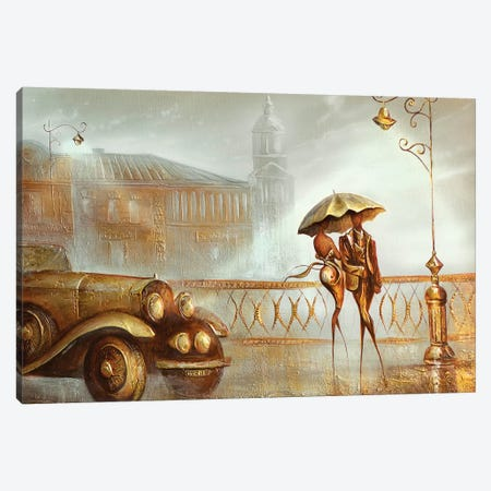 The South Bridge Canvas Print #RMN41} by Raen Canvas Artwork