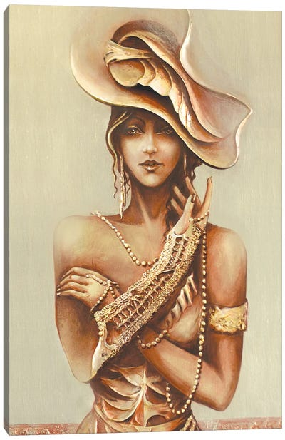Contemporary Lady I Canvas Art Print