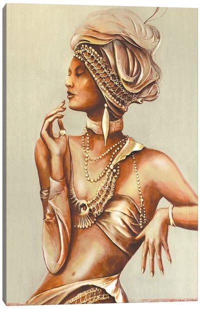 Contemporary Lady II Canvas Art Print