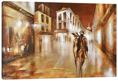 Parisians Canvas Art Print