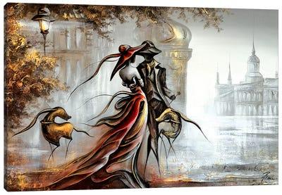 Blind Date Canvas Art Print