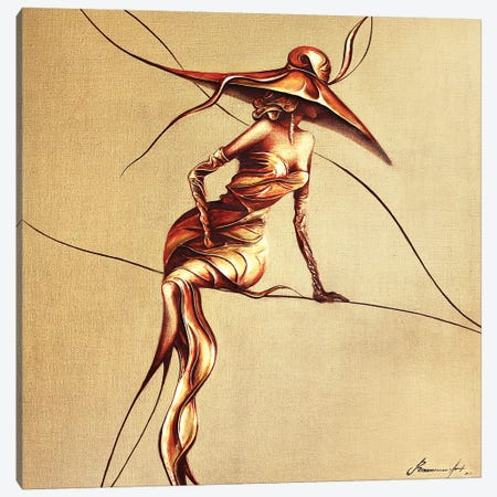 Casino World Canvas Print #RMN8} by Raen Canvas Artwork