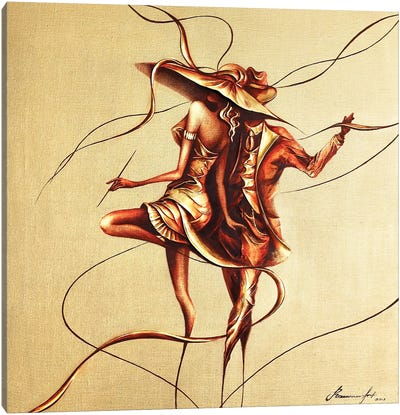 Dancing Canvas Art Print