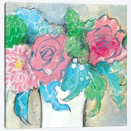 Delicate Treasure I Canvas Print #RMR12} by Robin Maria Canvas Art Print