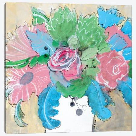 Delicate Treasure II Canvas Print #RMR13} by Robin Maria Art Print