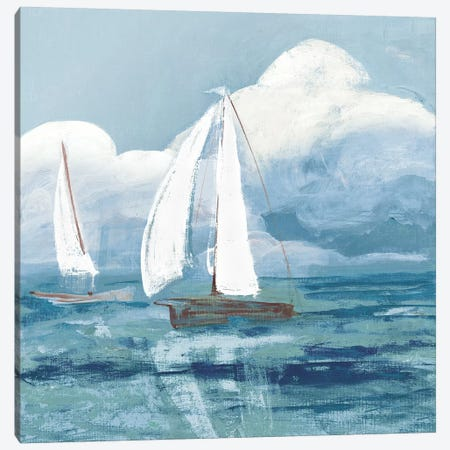 Dusk Regatta Winds Canvas Print #RMR15} by Robin Maria Canvas Wall Art