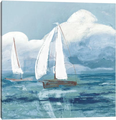 Dusk Regatta Winds Canvas Art Print