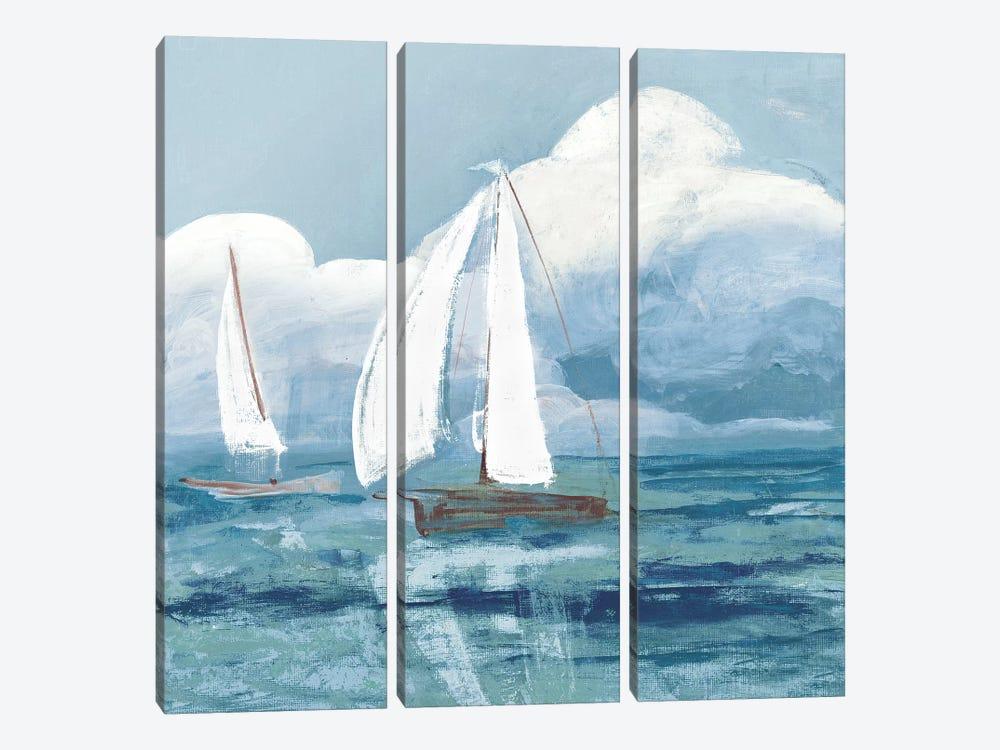 Dusk Regatta Winds by Robin Maria 3-piece Canvas Wall Art